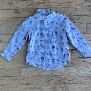 Janie and Jack dress up shirt
